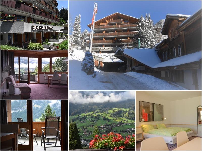 格林德爾瓦爾德紹瓦熱格酒店 (Hotel Du Sauvage Grindelwald)