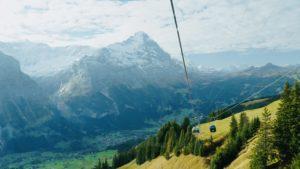 瑞士first纜車