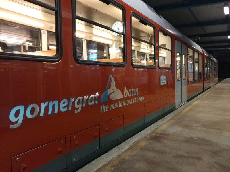 gornergrat列車
